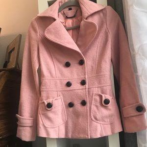 Forever 21 soft pink coat